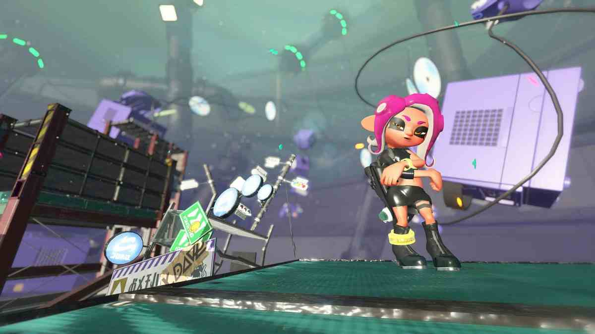 Splatoon 2 paints its world in broad strokes.